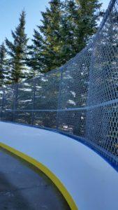 Sports Fence, Hockey Rink, 6 Gauge Mesh